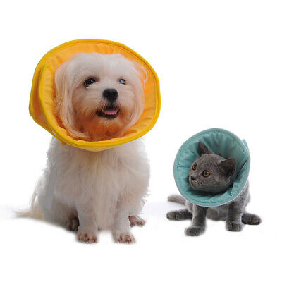 Soft Pet Cone Collar Medical Protection Bandage Anti-Lick Neck Recovery Cat Dog