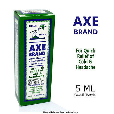 AXE BRAND Universal OIL For Quick relief of cold & headache 5ML