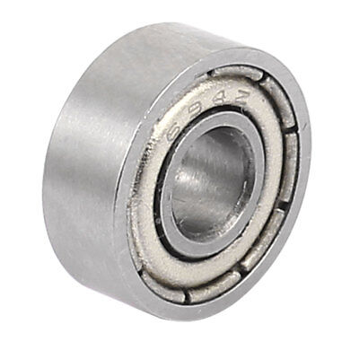 Metal Shielded Sealed Low Speed Deep Groove Ball Bearing 4mmx11mmx4mm