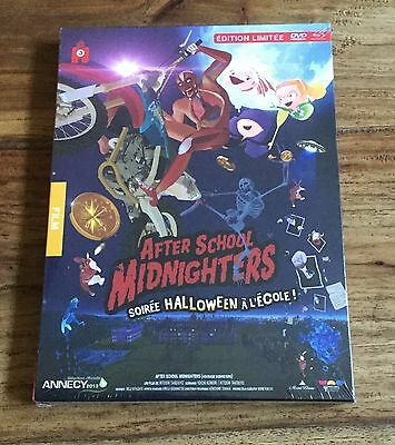 AFTER SCHOOL MIDNIGHTERS Édition Limitée Combo Collector Blu-Ray Dvd Neuf VF