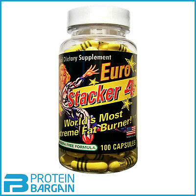 Stacker 4 The World's Most Extreme Fat Burner 100 Caps