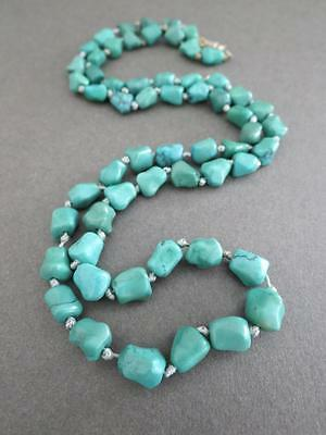 Vintage Chinese Turquoise Necklace