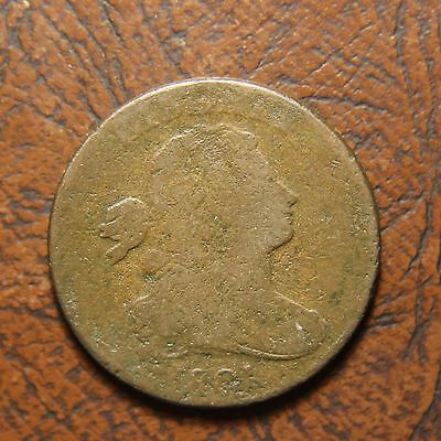 1801 Draped Bust Large Cent S-220, 1/000