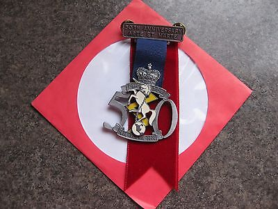 Royal Canadian Electrical Mechanical Engineers Badge 50 Years Arte  Et Marte