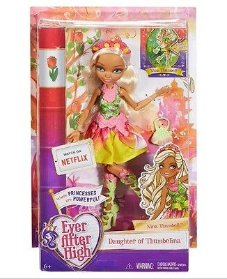 Brand New Ever After High Nina Thumbell Doll