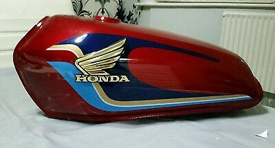 Honda Cg125 Cafe Racer Fuel Petrol Tank Universal Brand New Red