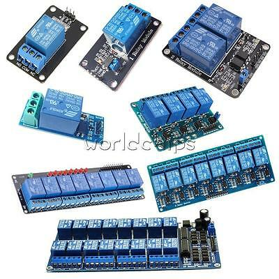 5V 1/2/4/6/8 Channel Relay LED Module Board Optocoupler for Arduino PiC ARM AVR