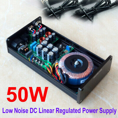 50VA HIFI Ultra-low Noise Linear Power Supply DC5V 9V 12V 15V 19V 50W LPS PSU 24