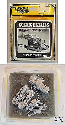 Woodland Scenics 1/87 H0 Metal Kit D-235 Track-Type Loader OVP #2456