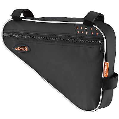 Ibera Bicycle Triangle Frame Bag Bike Top Tube Cycling Corner Pouch Large