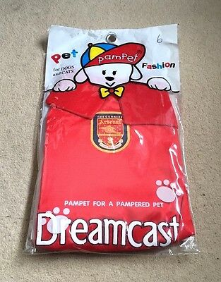 Arsenal FC Dog Outfit 2000-2001 Season- Size 6-Pampet Pets-Gunners-Miss Sticker