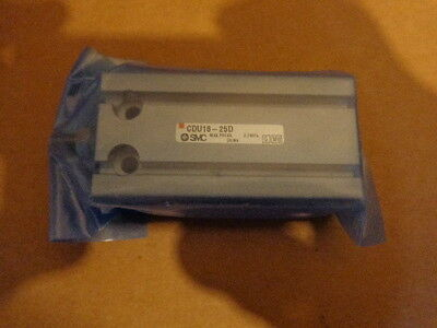 New SMC CDU16-25D Pneumatic Double Acting Cylinder