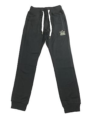 Mens Adidas Black Training Tracksuit Bottoms Pants Exercise Running Sports S M L