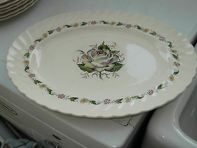 Clarice Cliff Kew Gardens By Royal Staffordshire / Newport Pottery  Oval Platter