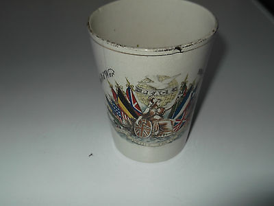 1919 Peace Beaker With Details Of Sir David Beatty's Signal On Reverse