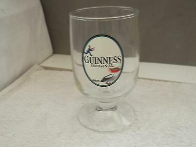Gilroy Guinness Original Half Pint Glass With  ? Toucan With Bottles In Beak