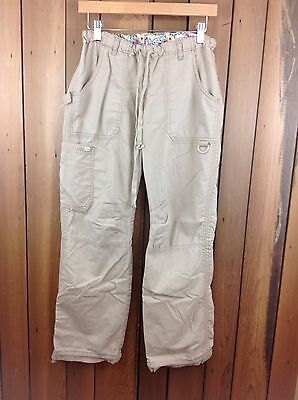 "Koi By Kathy Peterson ""Lindsey"" Scrub Pants ~Size Small~ Khaki"