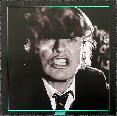 Ac/dc Angus Young Poster Page . 30 X 30 Cm . A