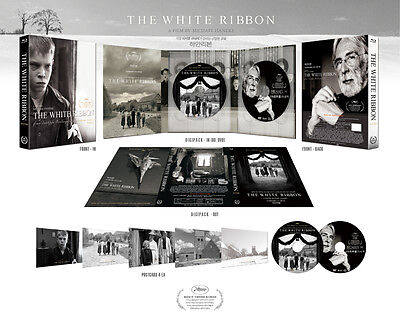 The White Ribbon (2016, Blu-ray) Digipack Limited Edition (700 copies)