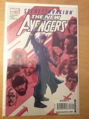 New Avengers 47, Nm- (9.0 - 9.2), 1St Print, Early Donald Trump Appearance