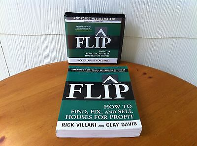 Gary Keller's FLIP: How to Find, Fix, and Sell Houses For Profit - 7 CD's & BOOK