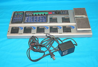 Digitech GNX3 GeNetX Guitar Workstation MultiEffects Pedal AudioDNA