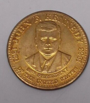 John F. Kennedy 35th President of the United States Medal Commemorative Coin