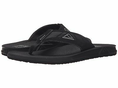 Reef Men's Phantom II Flip-Flop  Black Olive Medium (D, M) Sizes