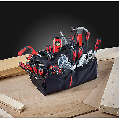 Forge Steel General Hand Tool Kit With Bag 55 Piece Set