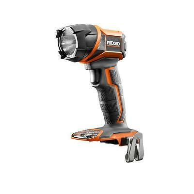 Ridgid GEN5X 18-Volt Li Lithium Ion LED Flashlight Flash Light