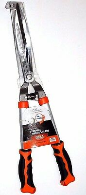 Oska Professional Straight Hedge Shears Drop Forged Steel Blade Overall 23 1/2""