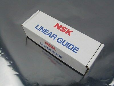 New in Box! NSK LS Series Linear Guide LAS15CL Square Type 2 Holes Carbon Steel