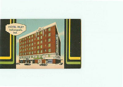 Vintage Postcard Hotel Riley District Indianapolis Indiana  # 2928