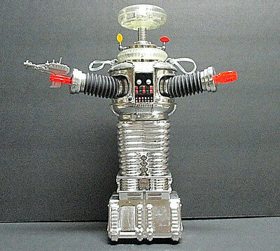 1997 Lost In Space B-9 Chrome Robot Collectors Series 1/9996