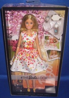 Barbie Collector The Barbie Look Sweet Floral Dress Fashion Barbie Doll, New