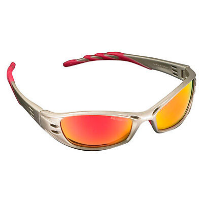 Peltor Race / Rally Eye Protection Mechanics Safety Glasses - Red Mirror Lenses