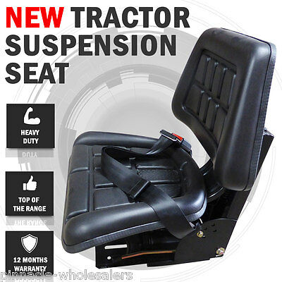 NEW Tractor Suspension Seat Wraparound John Deere, New Holland, Fiat, Ford