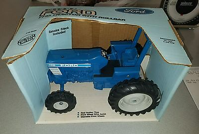 Vintage Ertl Ford 7710 Tractor With Rollbar 1/16 Scale With Box