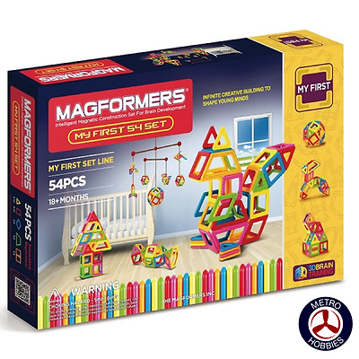 Magformers My First Magformers 54 Pce 63108 Brand New