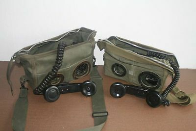 2 working Field Radio Phones TA-312/PT,  Military Telephone, very good condition