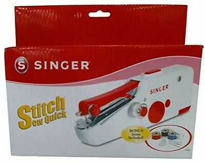 Singer Stitch Sew Quick Portable Compact Hand Held Lightweight Battery Operated