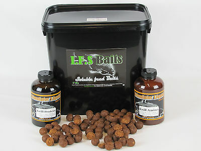 Boilies 5 Kg IFS Soluble feed Baits Arctic Shrimp 20 mm