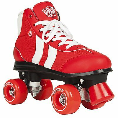 Rookie Quad Skates - Retro V2 Red/White 8