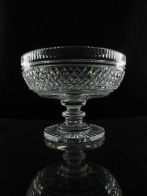 Waterford Castletown Giftware Crystal Centerpiece Footed Bowl, Elegant, Rare