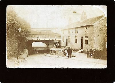 Eccles, Manchester, Barton-Upon-Irwell, Bridgewater Canal, Real Photo Postcard