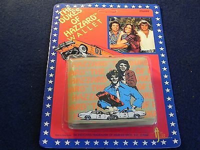 Dukes of Hazzard Vintage Wallet 1982 General Lee Warner Bros