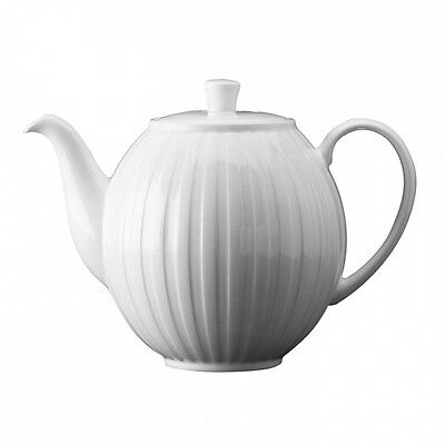 Wedgwood Night And Day Fluted Teapot New with Tag