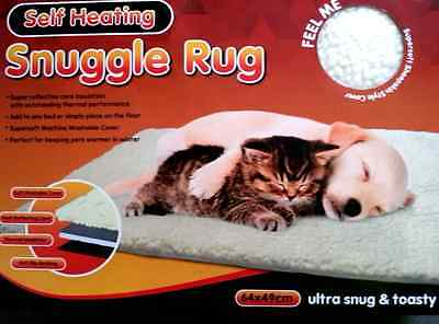 Thermal Self Heating Cat Dog Pet Rug Blanket For Keeping Pets Warm In Winter