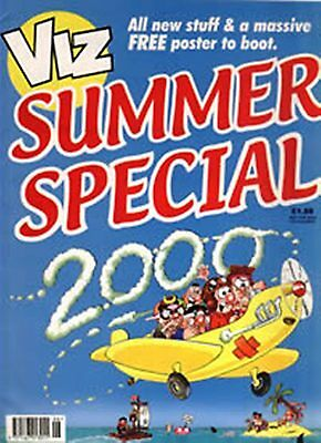 New - Adult Viz  Summer Special 2000 With Free Poster Skegness Is ****  - Mint