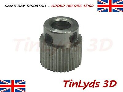 36 Teeth 5mm Bore Extruder Drive Gear Stainless Steel Ender 3/CR-10 3D Printer